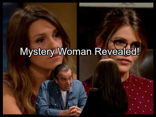 'The Young and The Restless' Spoilers: Mystery Woman Working with Victor Revealed - Chloe or Natalie?