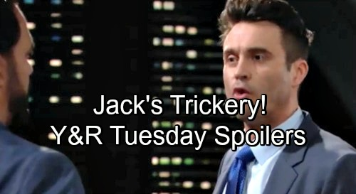 The Young and the Restless Spoilers: Tuesday, June 19 – Jack's Charming Trickery – Phyllis' Big Problem – Devon Consoles Hilary