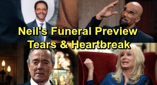 The Young and the Restless Spoilers: Farewell to Neil Winters Heartbreaking Preview – Crushing Funeral Brings Real Tears For KSJ