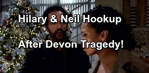 The Young and the Restless Spoilers: Devon's Car Accident Tragedy Drives Neil and Hilary Back Together?