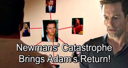 The Young and the Restless Spoilers: Adam Rises After Newman Family Catastrophe – Exploding Secrets Pave Way for Recast