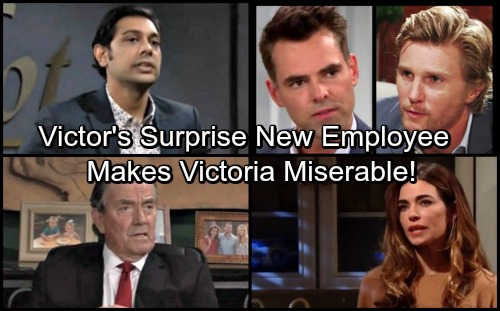 The Young and the Restless Spoilers: Victor Hires a Shocking New Employee – See Who'll Be Making Victoria Miserable