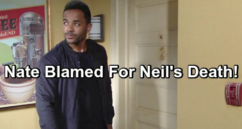 The Young and the Restless Spoilers: Lily Lashes Out At Nate After Neil's Death - Blames Doctor For Father's Passing