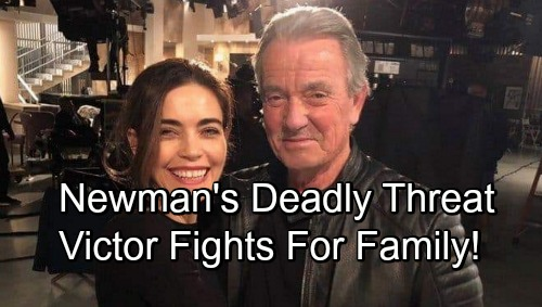 The Young and the Restless Spoilers: New Mystery Threat Brings Down The Newmans – Victor Fights Back To Save Family