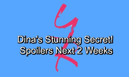 The Young and the Restless Spoilers Next 2 Weeks: Dina's Stunning Secret – Phyllis' Forgiveness – Billy's Revenge Play