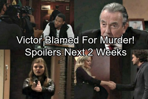 The Young and the Restless Spoilers: 2 Weeks Ahead - Victor Blamed For Zack's Death – Hilary's Nudes Exposed On TV