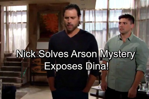 The Young and the Restless Spoilers: Nick Seeks The Underground Fire Culprit – Evidence Points to Dina, Jack Ready for War