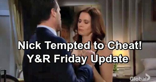 The Young and the Restless Spoilers: Friday, December 7 Update – Tessa Gets Snatched – Nick's Cheating Temptation – Ana Saves the Day