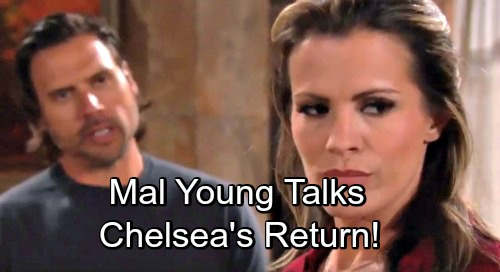 The Young and the Restless Spoilers: Mal Young Talks Melissa Claire Egan's Return – Chelsea's Comeback Certain