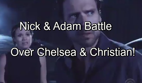 The Young and the Restless Spoilers: Adam's Absence Brings Chelsea Closer to Nick – Brothers Battle for Chelsea and Christian?
