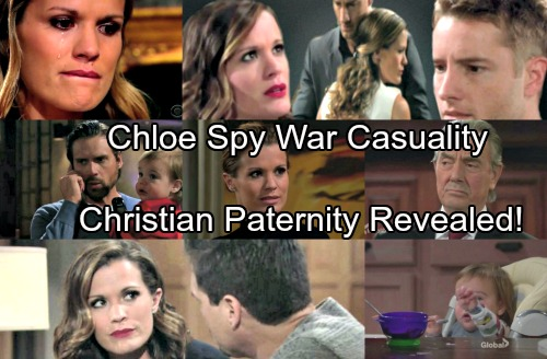The Young and the Restless Spoilers: Christian's Paternity Revealed During War Between Victor and Chelsea Over Chloe