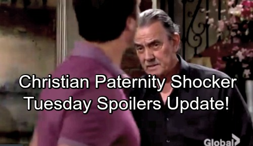 The Young and the Restless Spoilers: Tuesday, May 29 Update – Victor Throws Christian's Paternity in Nick's Face