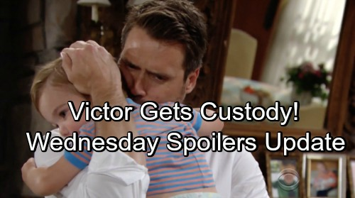 The Young and the Restless Spoilers: Wednesday, June 13 Update – Victor Scores Custody – Dina's Old Diaries' Shocking Secrets