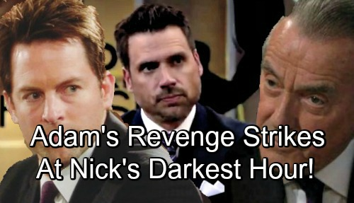 The Young and the Restless Spoilers: Adam Newman's Revenge Hits in Nick's Darkest Hour – Major Brother Battle Brewing?