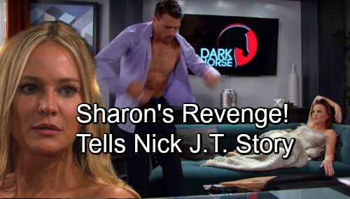 The Young and the Restless Spoilers: Sharon's Vengeful Confession, Spills J.T. Story to Nick – Ringleader Phyllis Gets Burned