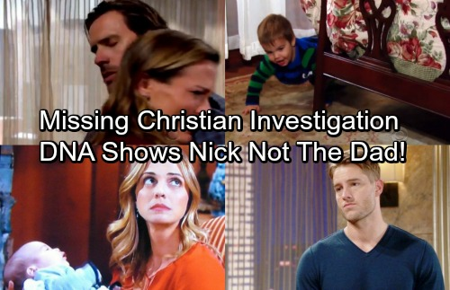 The Young and the Restless Spoilers: GCPD Investigation Into Missing Christian Uses DNA Evidence - Discovers Nick's NOT The Dad