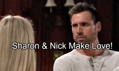The Young and the Restless Spoilers: Sharon Makes Love With Nick - Distracts Him From J.T. Murder Cover-up Trail