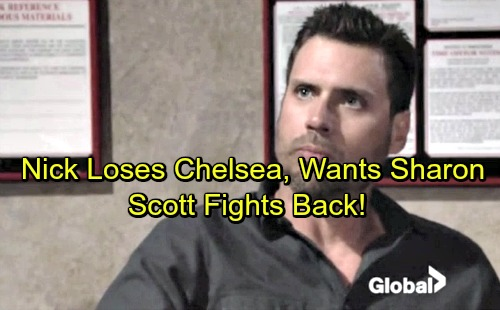The Young and the Restless Spoilers: Nick Interested in Sharon Again, Scott Fights Back - Future With Chelsea Destroyed by Lies