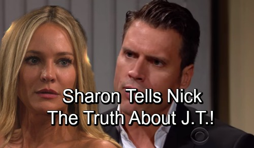 The Young and the Restless Spoilers: Sharon Terrified By Nick and Rey's Alliance - Tells Nick The Truth About J.T.