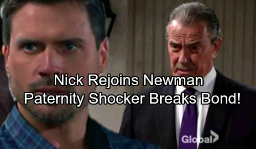 The Young and the Restless Spoilers: Victor Wins, Nick Grovels and Joins Newman – Christian Paternity Shocker Ruins Restored Bond