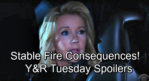 The Young and the Restless Spoilers: Tuesday, December 4 – Stable Burns, Horses' Fate Revealed - Rey Investigates Startling Crime