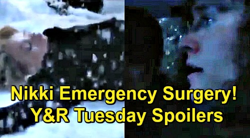 The Young and the Restless Spoilers: Tuesday, December 18 – Emergency Surgery for Nikki, Nate Fights to Save Her – Victoria Leans on Billy