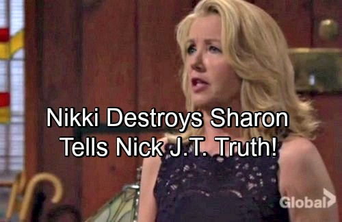 The Young and the Restless Spoilers: Nikki's Desperate Move To Break Up Shick – Drops J.T. Bombshell on Nick