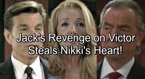 The Young and the Restless Spoilers: Jack Steals Nikki's Heart From Victor - Hits The Moustache Where It Hurts Most