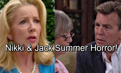 The Young and the Restless Spoilers: J.T. and Phillip Mysteries – Y&R Summer Horror Show Revealed For Nikki and Jack