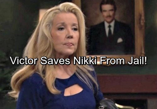 The Young and the Restless Spoilers: Victor Saves Nikki From Prison Sentence – Bitter Christine Demands Justice