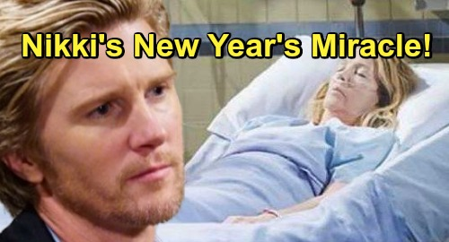 The Young and the Restless Spoilers: Nikki's Coma Leads To New Year's Miracle - J.T.'s Murder Solved, But Not How You Expected