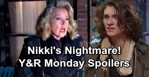 The Young and the Restless Spoilers: Monday, December 17 – Nick Panics Over Nikki's Nightmare Accident – Horrible Decisions Collide
