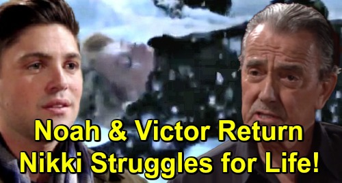 The Young and the Restless Spoilers: Comatose Nikki Fights to Survive – Noah and Victor Return During Family Crisis