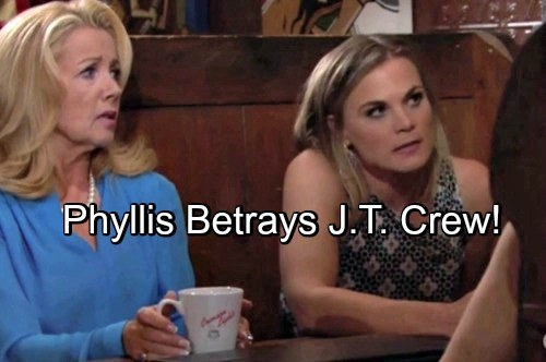 The Young and the Restless Spoilers: Tuesday, July 3 – Phyllis Turns Traitor, Betrays Cover-Up Crew