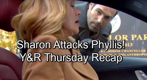 The Young and the Restless Spoilers: Thursday, November 8 Recap – Sharon Attacks Phyllis, Tries To Kiss Rey - Nikki Freaks