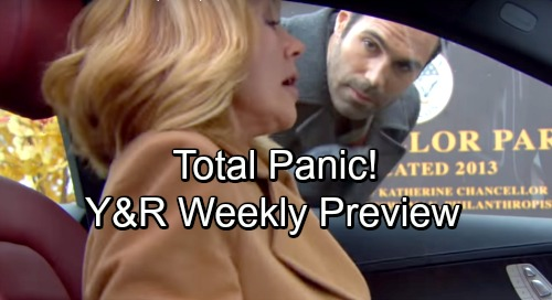 The Young and the Restless Spoilers: Week of November 5 Preview – Exploding Suspicions, Bold Moves and Total Panic