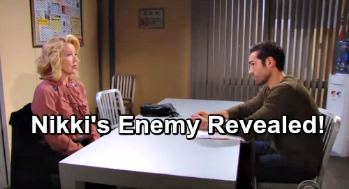 The Young and the Restless Spoilers: Shocking Culprit Targeting Nikki For J.T.'s Murder Revealed
