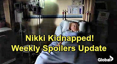 The Young and the Restless Spoilers: Nikki Kidnapped from Hospital – Panicked Nick Desperate to Find Missing Mom
