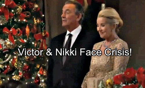 The Young and the Restless Spoilers: Victor and Nikki Face a Major Crisis – One Unruly Newman Causes Total Mayhem