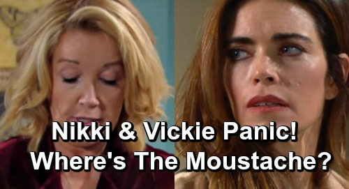 The Young and the Restless Spoilers: Nikki and Victor Fear the Worst – Victor Can't Be Contacted - Where's The Moustache?