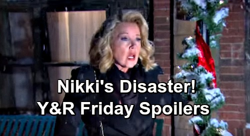 The Young and the Restless Spoilers: Friday, December 14 – Rey's Pressure Sends Nikki Over the Edge – Sharon's Shocking Confession