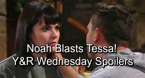 The Young and the Restless Spoilers: Wednesday, October 10 – Nick's Desperate Plan Backfires – Noah Blasts Tessa