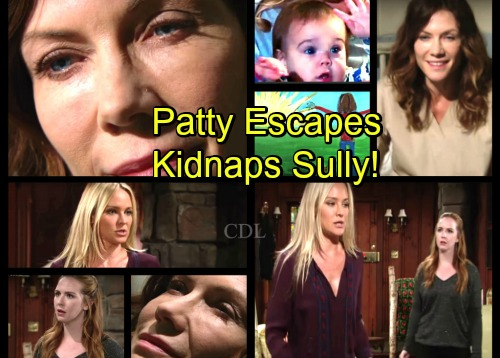 The Young and the Restless Spoilers: Sharon and Mariah's Plan Backfires - Patty Escapes Stoneville - Kidnaps Sully