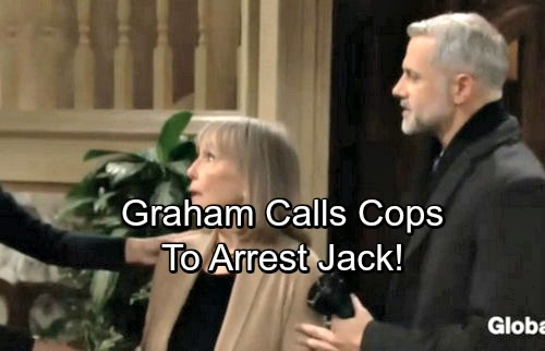 The Young and the Restless Spoilers: Graham Calls Cops, Has Jack Arrested – Paul's Illegal Move Changes the Game