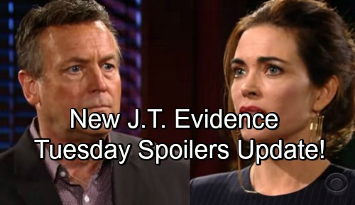 The Young and the Restless Spoilers: Tuesday, May 15 Update – Victoria Panics as New J.T. Evidence Surfaces – Billy Now Jabot CEO