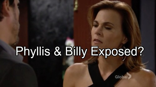 The Young and the Restless Spoilers: Jack Shocked by Philly Reveal - Risk of Phyllis and Billy Exposure Deepens