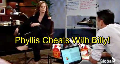 The Young and the Restless Spoilers: Nick Burned, Pays Price for His Mistakes - Phyllis Cheats with Billy?