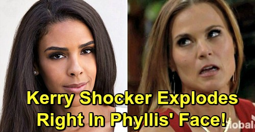 The Young and the Restless Spoilers: Kerry Shocker Explodes in Phyllis' Face - Ashley and Traci Return for Abbott Family Drama