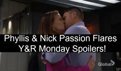 The Young and the Restless Spoilers: Monday, November 5 – Billy and Sharon Lean on Each Other – Phyllis and Nick's Passion Takes Over
