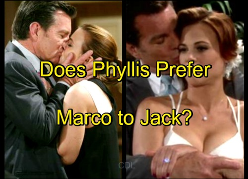 The Young and the Restless Spoilers: Does Phyllis Actually Prefer Bad Boy Marco over Kind-Hearted Devoted Jack?